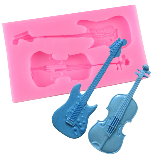 Violin & Guitar Silicone Mould