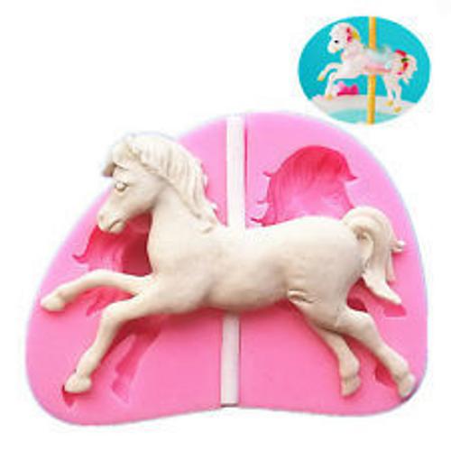 Silicone Mold - CAROUSEL HORSE