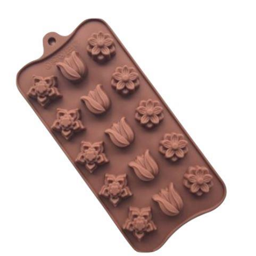 Assorted Flower Chocolate mold