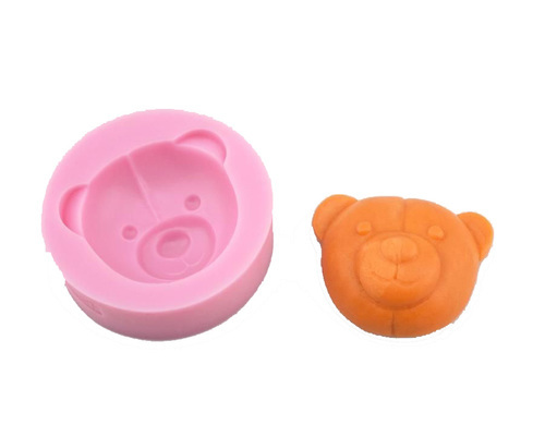 Teddy Bear Head Silicone Mould