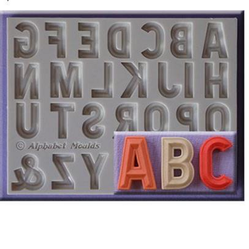 Classic Letter Upper Case Silicone Mould