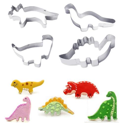 Dinosaurs Stainless Steel Cutter Set