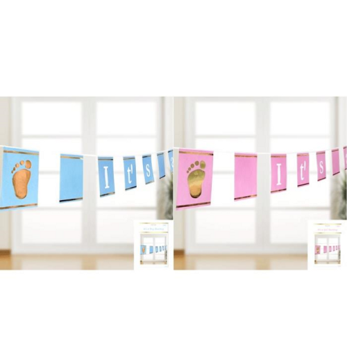 "Shmick Baby Shower Bunting - ""It's a Boy/Girl"""