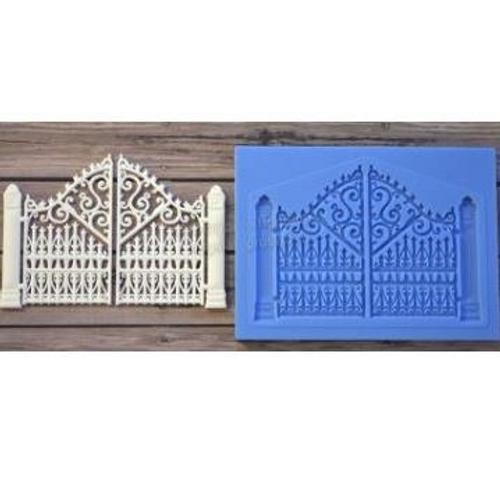 Ornate Gates Silicone Mould