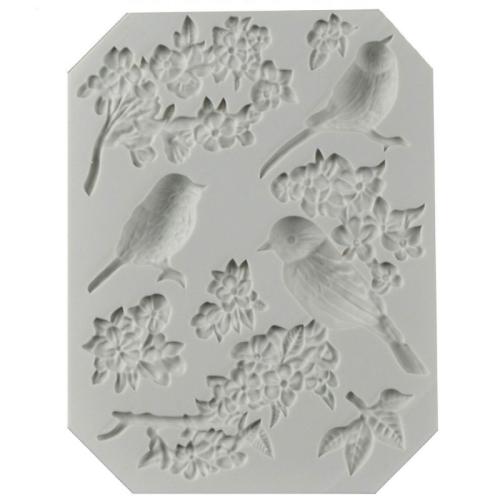 Birds & Branches Silicon Mould