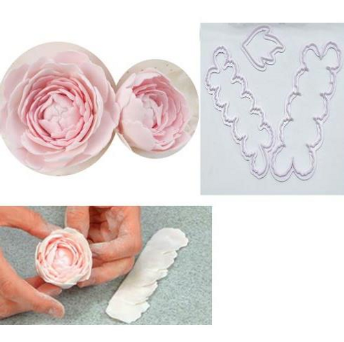 Easy Carnation / Peony Cutter 3pc Set