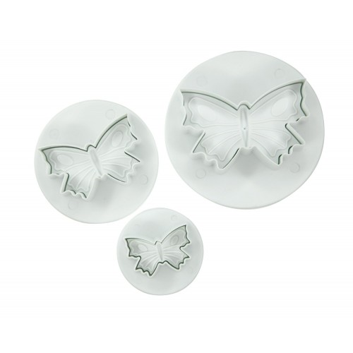 Butterfly 3pc Plunger Cutter Set
