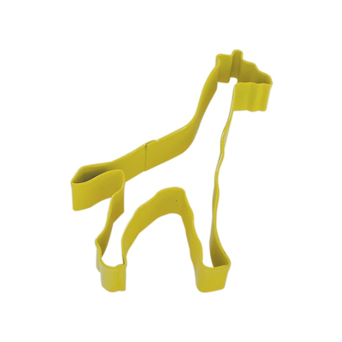 Giraffe Tin Plate Cookie Cutter (Fox Run)
