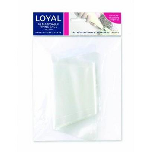 "LOYAL 10pc Disposable Piping Bags 12"""