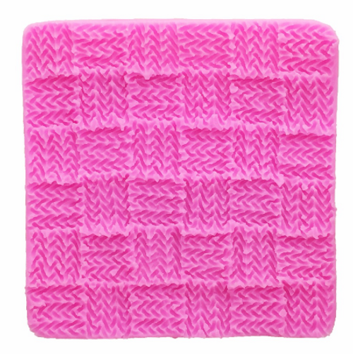 Knitted Quilt Impression Mat