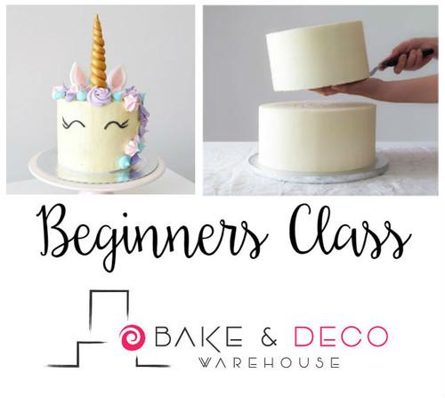 Bake & Deco Beginners Class June