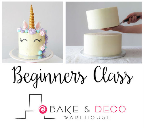 Bake & Deco Beginners Class August