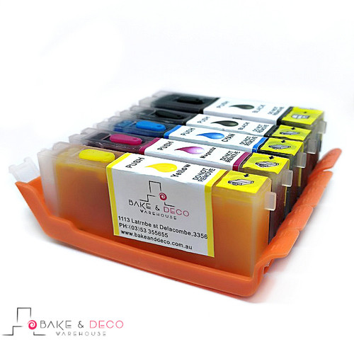 Edible Ink cartridge set 670 /671