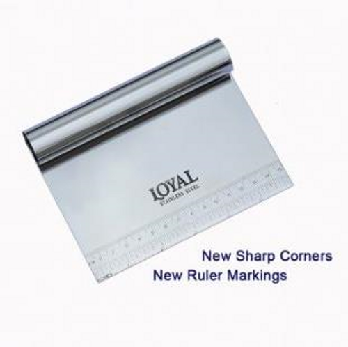 Scraper with Ruler - Stainless - Loyal