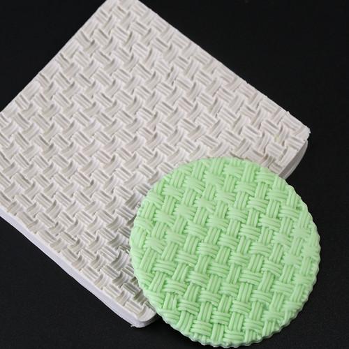 Fine Basket Weave  Impression Mold