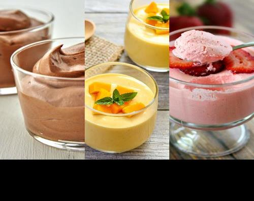 Instant Mousse Mix 250g (Choc, Mango, Strawberry)