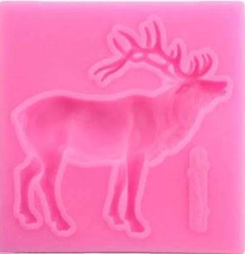 Reindeer Roaring Silicone Mold