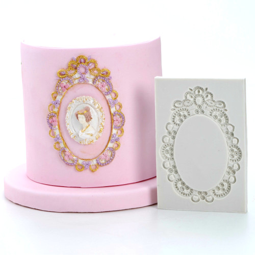 Oval Frame / Mirror Silicone Mould