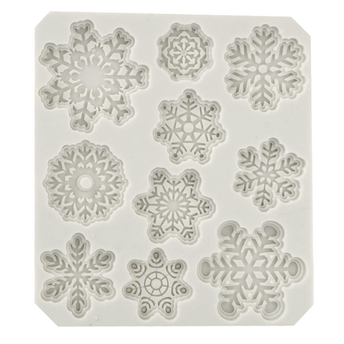 Lacy Snowflake Silicone Mold