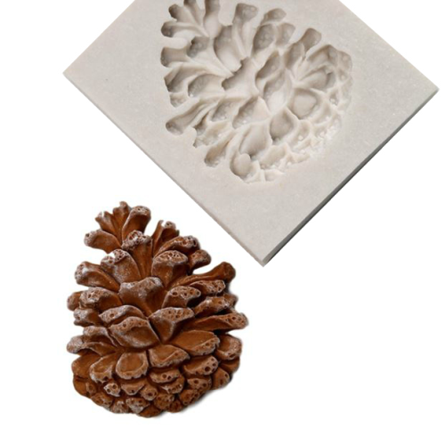 Pinecone Silicone Mould
