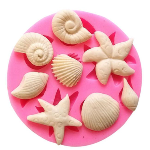 Sea Shells Silicone Mold