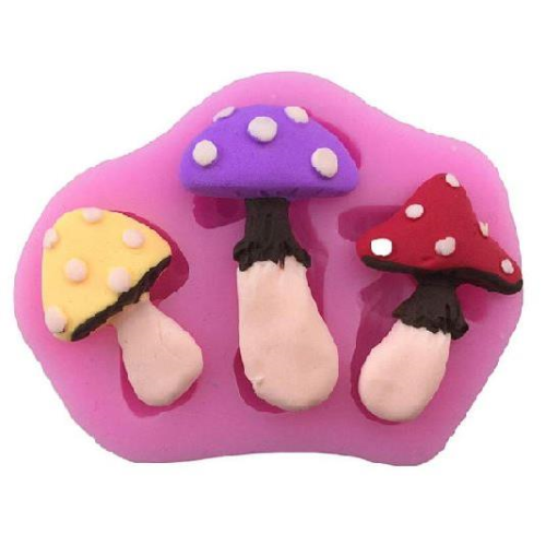 Toadstool 3pc Silicone Mould