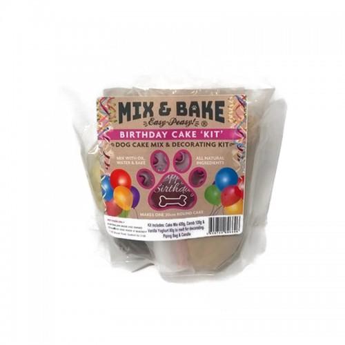 Mix & Bake for Pets - Birthday Cake Kit