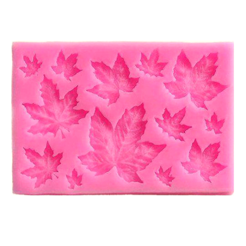 Maple Leaves 13pc Silicone Mould