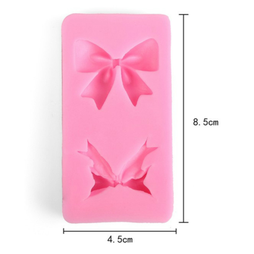 Bow 2pc Silicone Mould