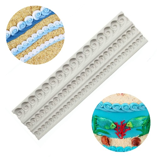 Ocean Waves Silicone Mould