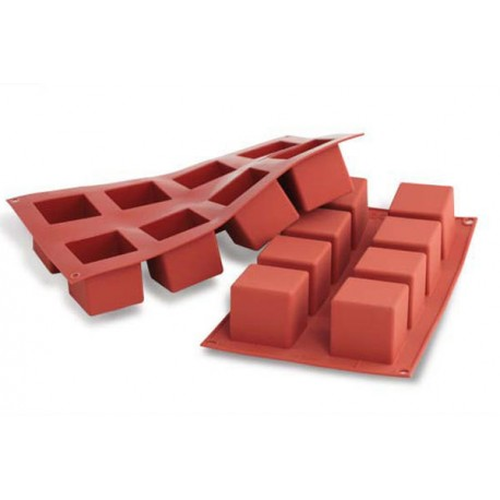 Silicone Mold - BLOCKS / 8 Cavity