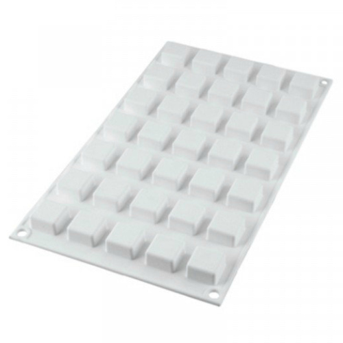 Silicone Mold - SQUARES / 35 Cavity