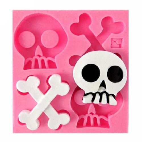 Skull & Bones Silicone Mold
