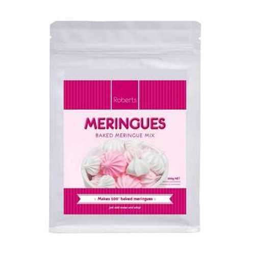 Meringue mix 200g roberts confectionery