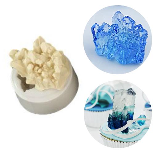Silicone Mold - 3D Aggregator Crystal