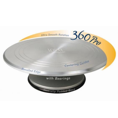 LOYAL Pro 360 Cake Decorating Turntable