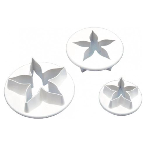 Small Calyx 3pc Plastic Cutter Set