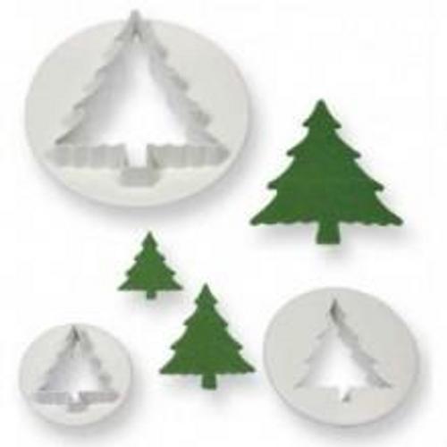 Pine Tree 3pc Cutter Set