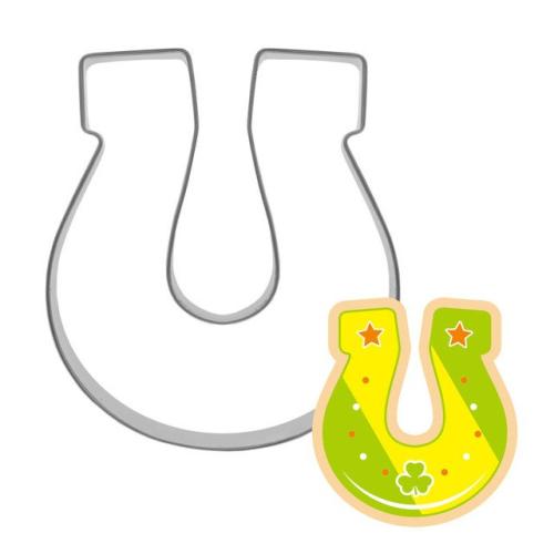 Horse Shoe Biscuit Cutter