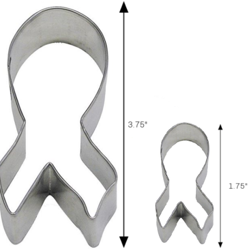 Awareness Ribbon Tin Cookie Cutter