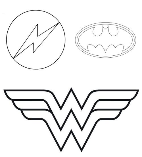 Superhero Logo Tin Plate Cutters