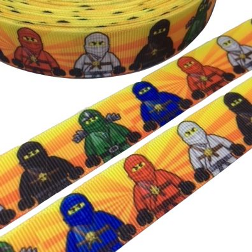 Lego Ninjago Novelty Printed Ribbon