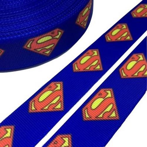 Superman Logo Novelty Printed Ribbon