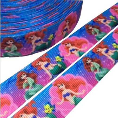 The Little Mermaid Novelty Printed Ribbon
