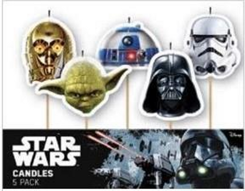 Star Wars 5pc Candle Set