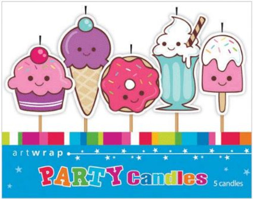 Sweet Treats 5pc Candle Set