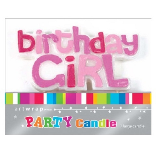Birthday Girl Party Candle