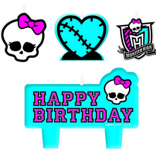 Monster High Birthday Candles