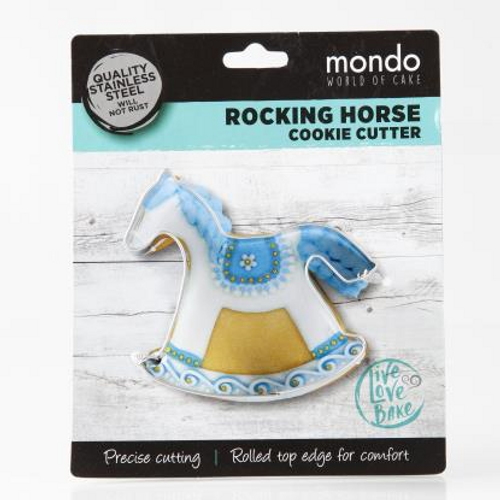 Mondo Rocking Horse Cookie Cutter