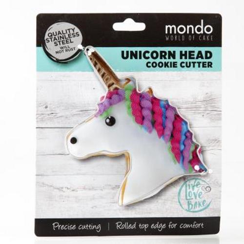 Mondo Unicorn Head Cookie Cutter